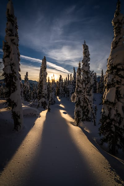 Tom Weager Photography - Last Light in the alpine