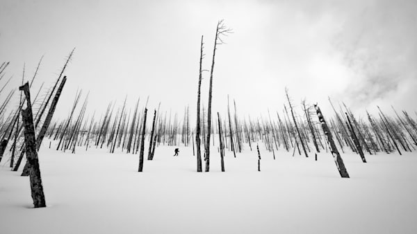 Tom Weager Photography - Ski touring in the burn