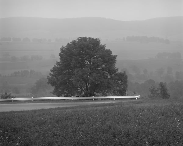Foggy Day Near Millerton, New York 1972 Photography Art | Rick Gardner Photography