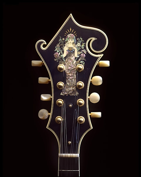 Dave Peter's Goddess Mandolin Photography Art | Rick Gardner Photography