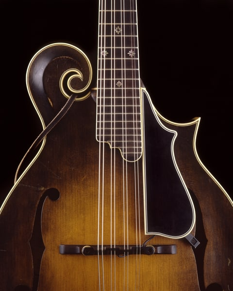 Dave Peter's Mandolin Photography Art | Rick Gardner Photography