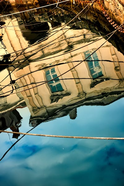 Piran Reflected Art | Karen Hutton Fine Art