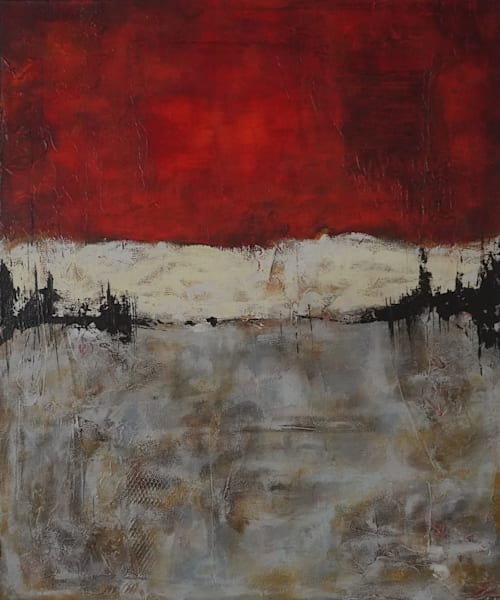 Red Dawn Art | Noreen Dixon Art