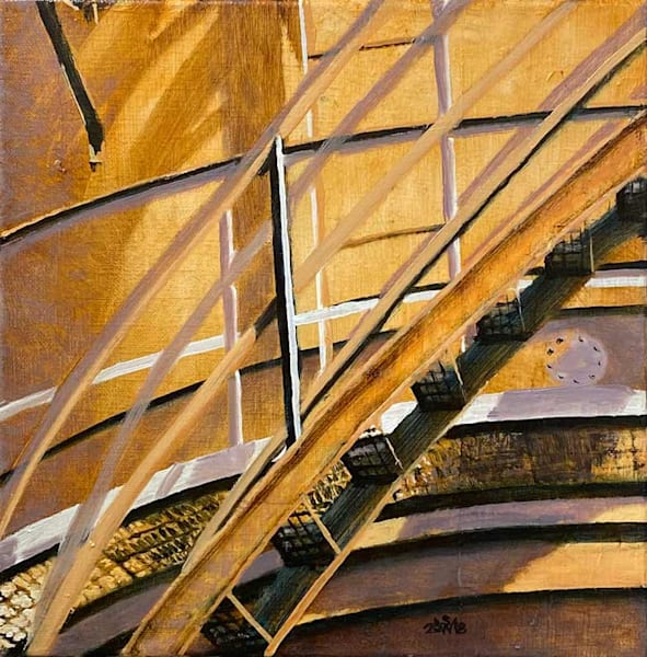 Gasworks: Stairs Art | Fountainhead Gallery