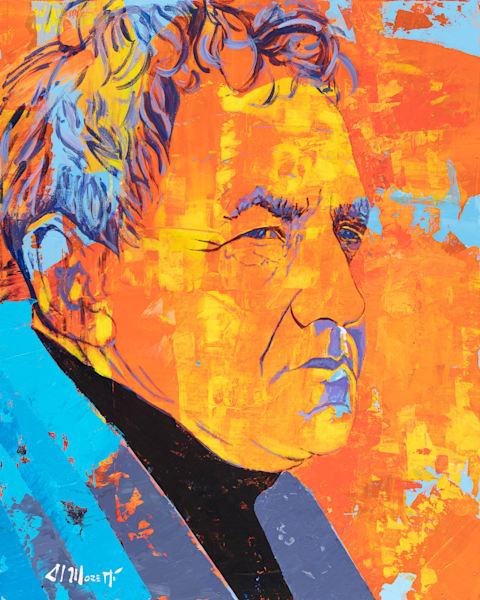 Andrew Wyeth Portrait by Al Moretti
