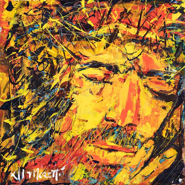 Jesus Portrait by Al Moretti