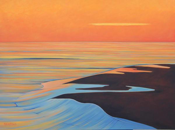 """The Tide Recedes"" Oil On Canvas Art | Margaret Biggs Fine Art"