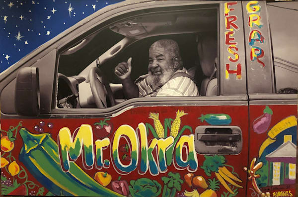 Mr. Okra Art | New Orleans Art Center