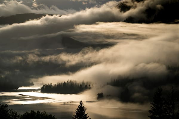 Tom Weager Photography - After a spring storm on the West Arm of Kootenay Lake