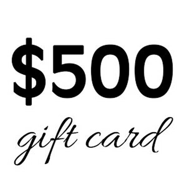 $500 Gift Card   Gango Custom Printing