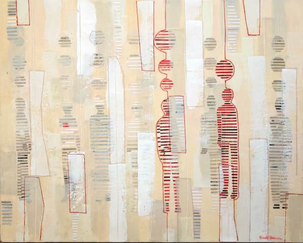 Finding Connection Art | Rinat Goren