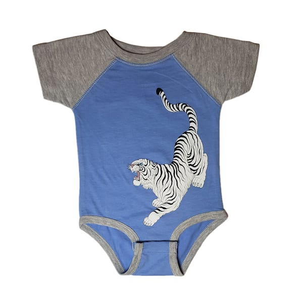 Kids Tora Onesie Blue | Kings Avenue Tattoo
