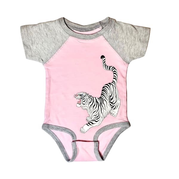 Kids Tora Onesie Pink | Kings Avenue Tattoo