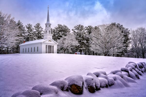 The Chapel on a Winter Day   Shop Photography by Rick Berk