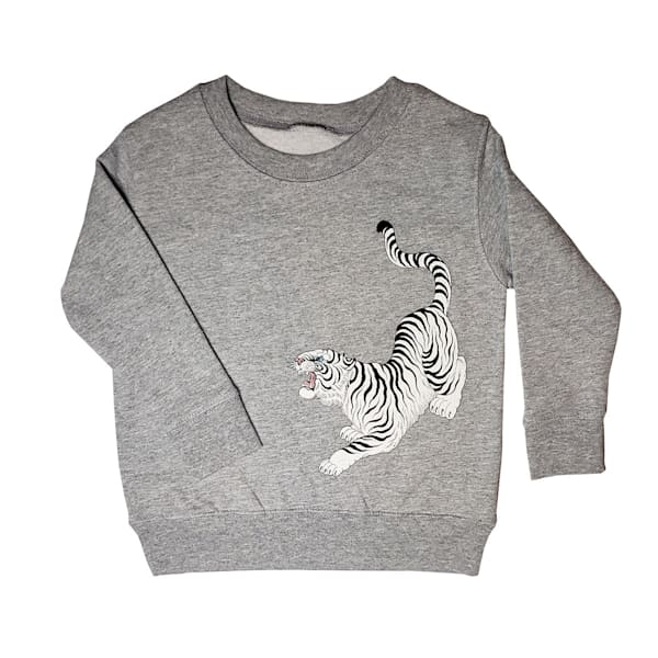 Kids Tora Crewneck Grey | Kings Avenue Tattoo