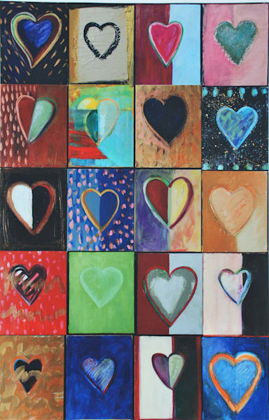 Piece Of My Heart: Original Collection Art | All Together Art, Inc Jane Runyeon Works of Art