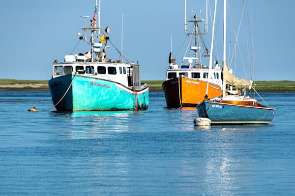 Sailboats And Fishing Boats Photography Art | The Colors of Chatham