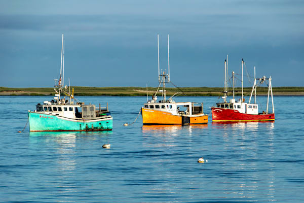 Three Boats Photography Art | The Colors of Chatham