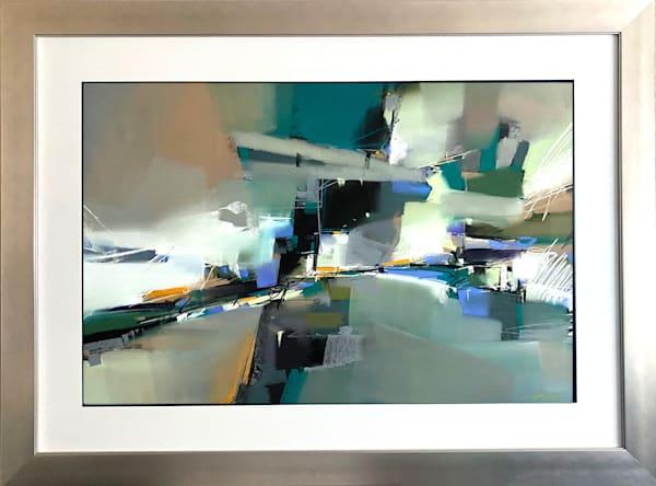 Thalo Green Wave Art   Michael Mckee Gallery Inc.