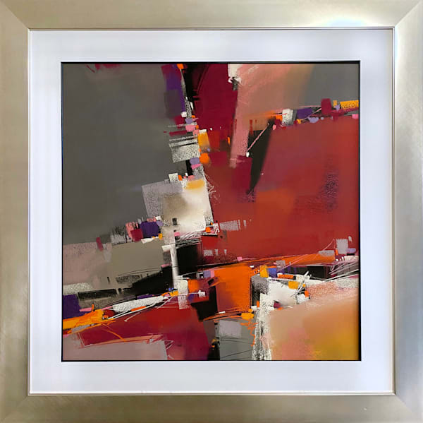 Cadenza In Red Art | Michael Mckee Gallery Inc.