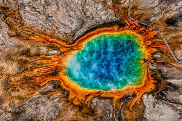 The Eye Of Yellowstone Photography Art | John Winnie Jr. Photography