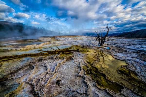 Mammoth Hot Springs 1 Photography Art | John Winnie Jr. Photography