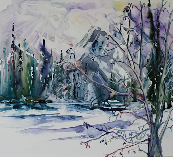 Whirlpool River Art | Karen Bishop Artist