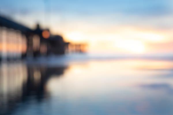 pier photo, sunset pier photo, blur, abstract art, Modern ocean Abstract Art, Ocean Photo, Abstract Wall Art, art print, extra large wall art abstract
