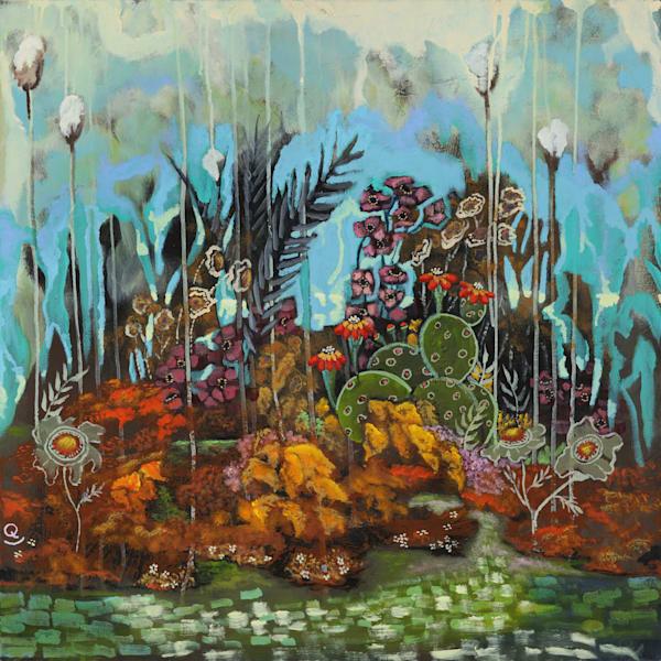 Landscape/floral prints