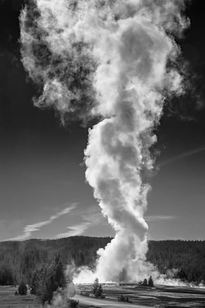 The Great Fountain Geyser Photography Art | Charlotte Gibb Photography