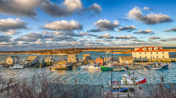 Menemsha Blustery Winter Morning Art | Michael Blanchard Inspirational Photography - Crossroads Gallery