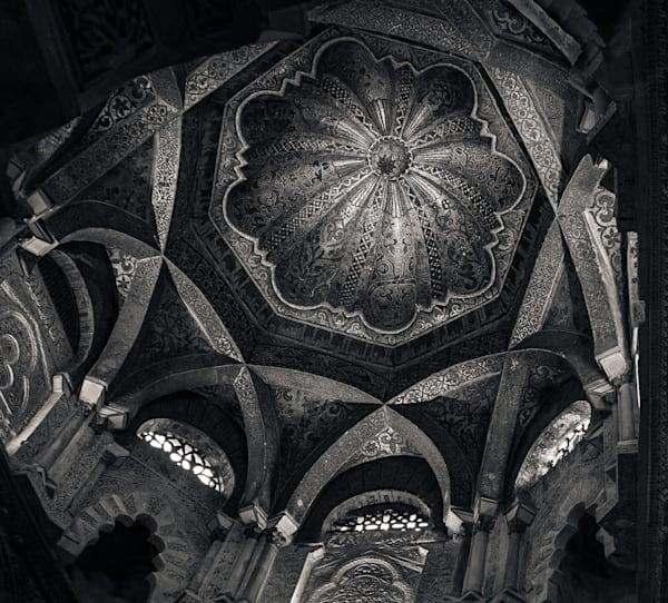 Dome Great Mosque Of Cordoba Photography Art | Dan Katz, Inc.
