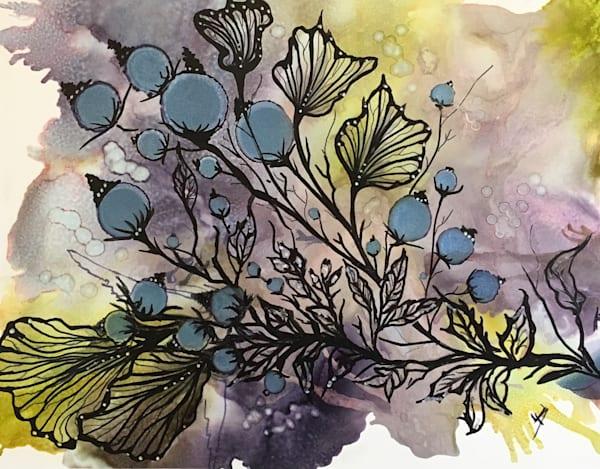 Berry Sprig Art | Art With Judy Ann