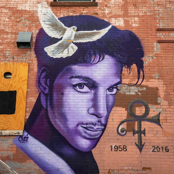 Uptown Minneapolis Prince Mural Photography Art | William Drew Photography