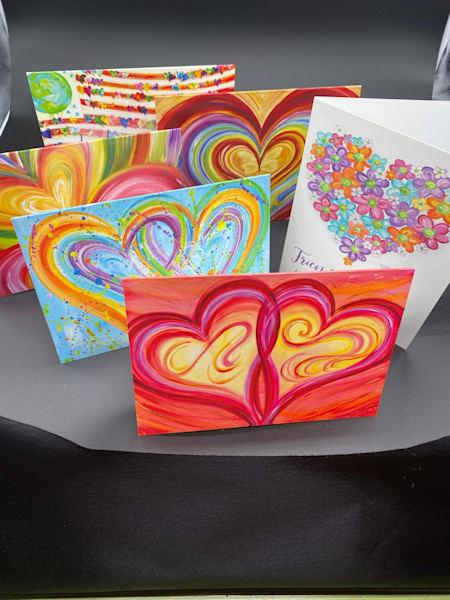 Assortment Of 6 Greeting Cards  | Heartworks Studio Inc