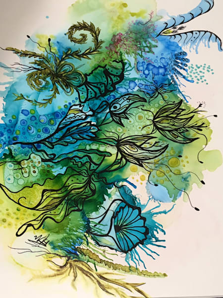 Exotic Nature Art   Art With Judy Ann
