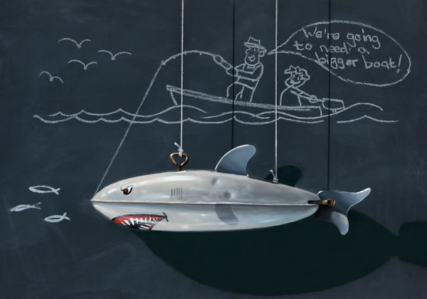 Bigger Boat Art | Richard Hall Fine Art