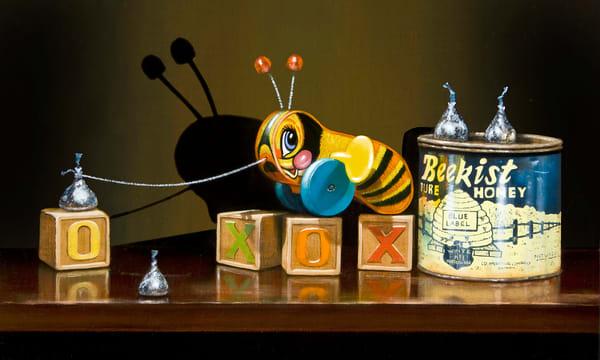 Bee Kissed Art | Richard Hall Fine Art