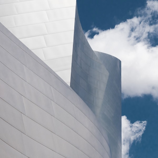 Disney Concert Hall Photo, Downtown Los Angeles, Geometric Architecture, Iconic LA, Urban Landscape, Wall Art Print