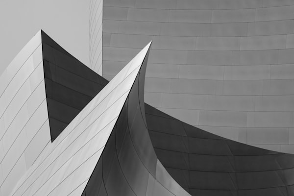 Disney Concert Hall, Los Angeles Print, symphony, Geometric Architecture, Frank Gehry print, los angeles wall art,  Los angeles photo, frank gehry architecture, downtown la, walt disney, abstract photography, california, modern architecture,