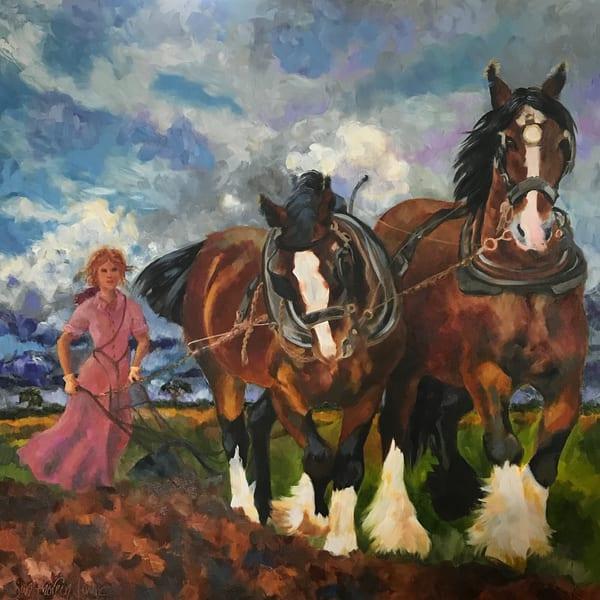 Pioneer Woman Art | Jan Thoreen Lewis Fine Art