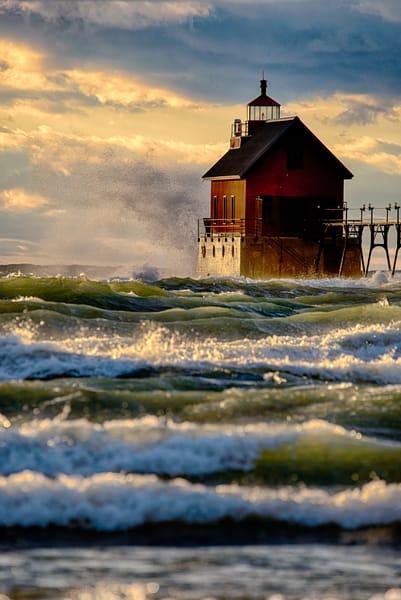 Surging Waves Pier