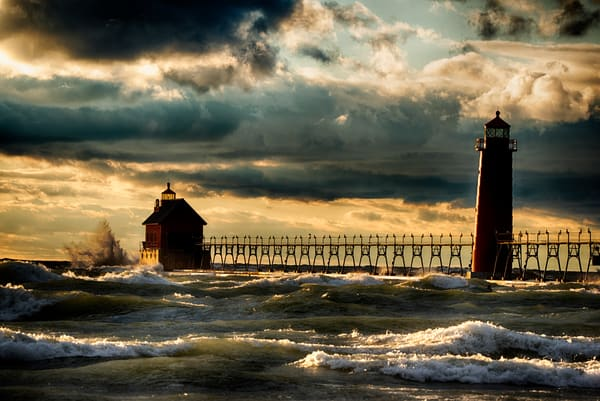 Power Lake Michigan Grand Haven