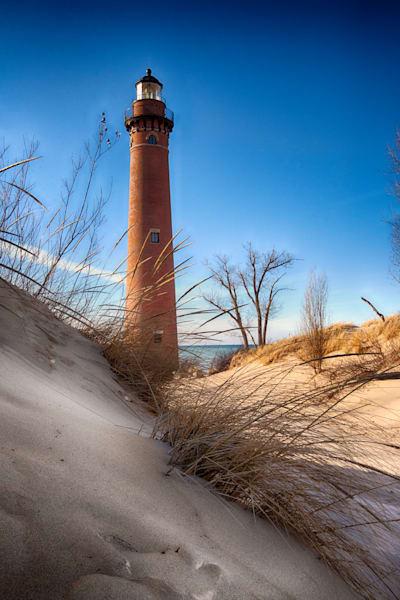 Sable Point Lighthouse Sand Dunes