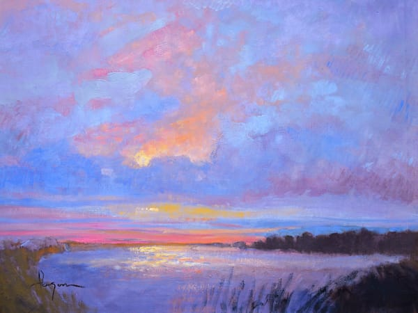 Silver Lining Original Oil Painting Art | Dorothy Fagan Collection