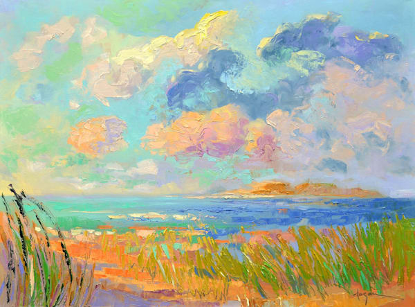 On A Summer Day Original Oil Painting Art | Dorothy Fagan Collection