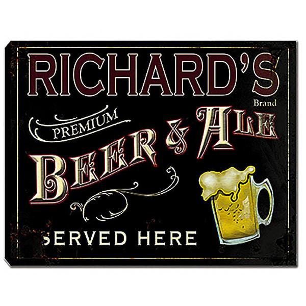 Personalizable Premium Beer & Ale Canvas Print  | Photo 2 Canvas Direct