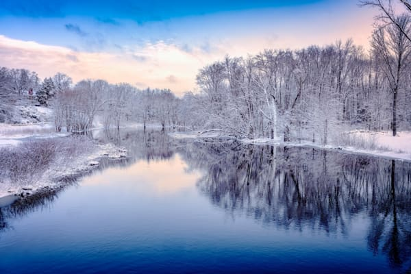 Winter on the Concord River | Shop Photography by Rick Berk