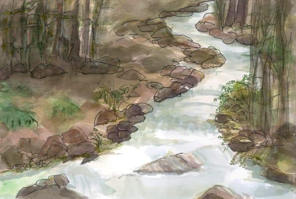 Madden Creek Art | Elaine Schaefer Hudson Art