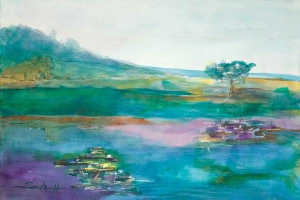 The Lagoon Art | Elaine Schaefer Hudson Art